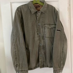 Vintage Billabong Insulated Canvas Work Coat Sz L